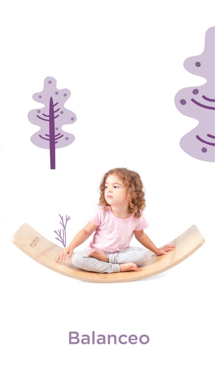 Cartas Yoga con Tabla Curva