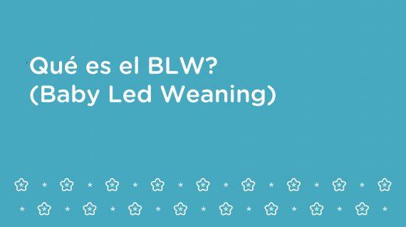 Qué es el BLW? (Baby Led Weaning)